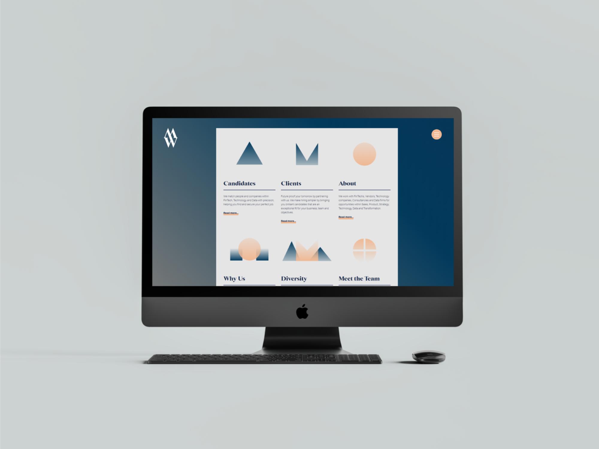 The MWEK website scrolled once on a Mac Desktop